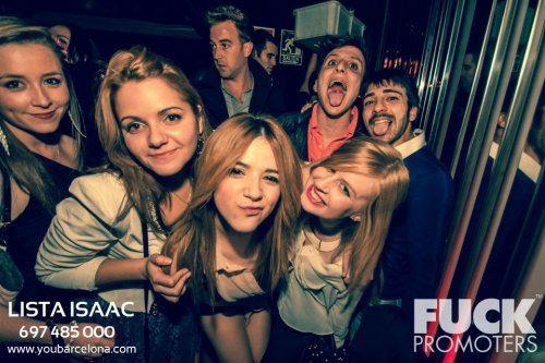 Lista de Isaac: club-discotecas-bares entre otros