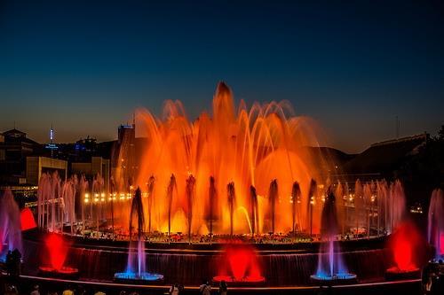 Las fuentes mágicas de Montjuïc