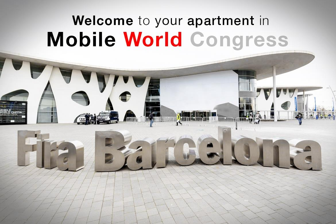 Apartments in Barceona for Mobile World Congress 2016