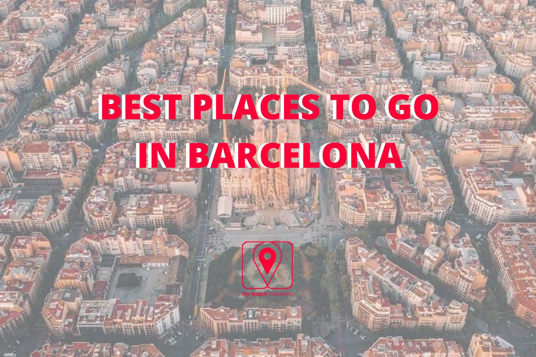 10 Places you can't miss during your visit to Barcelona